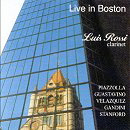 Live in Boston. Luis Rossi