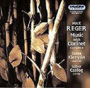 Max Reger Music with Clarinet - Csaba Klenyán
