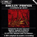 Rollin' Phones (Saxophone Quartet)