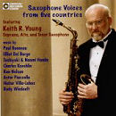 Saxophone Voices from Five Countries - Keith R. Young