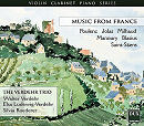 Music from France - Verdehr Trio