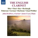 The English Clarinet - John Bradbury