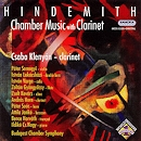 Hindemith, Chamber Music with Clarinet - Csaba Klenyán