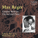 Max Reger, Complete Works for Clarinet - Pike