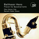 Pieces for Bass Clarinet - Balthasar Hens