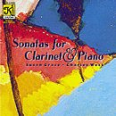 Sonatas for Clarinet and Piano-Charles West