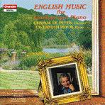 English Music for Clarinet and Piano-de Peyer