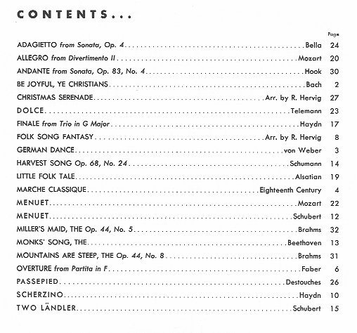 Thirty Caprices Transcribed for Saxophone or Oboe Vol 1
