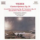 Weber Clarinet Works - Berkes