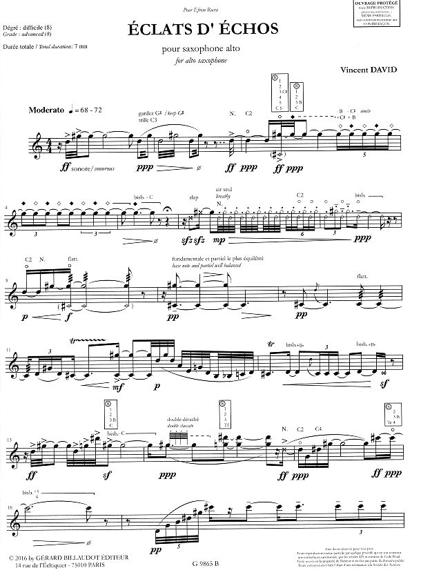 All Music Chords saxophone solo sheet music : Saxophone Music Solo