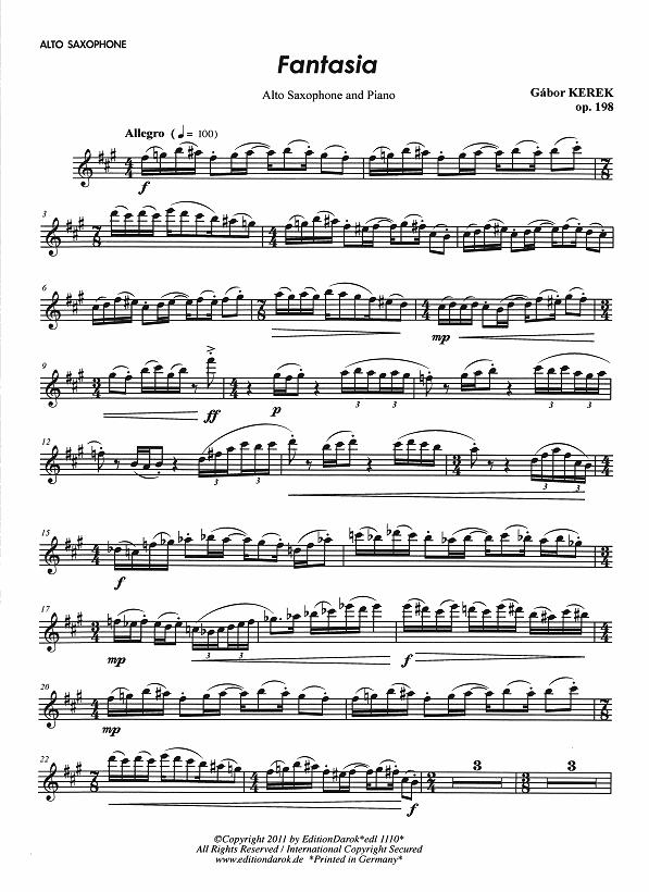 Erland Von Koch – Sigurd Rascher - Saxophone Concerto