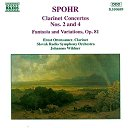 Spohr Clarinet Concertos Nos. 2 and 4