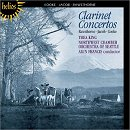 Three English Clarinet Concertos - Thea Kin
